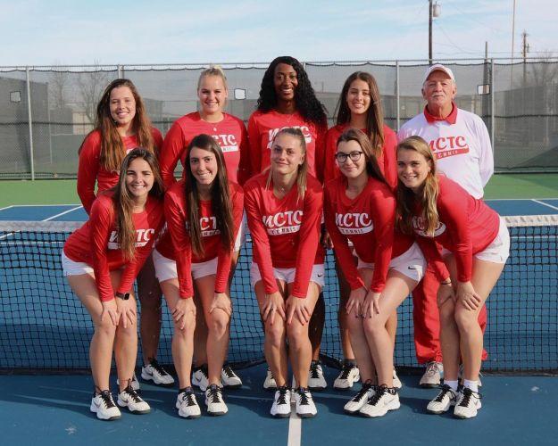 NCTC Women's Tennis Team 2019/2020