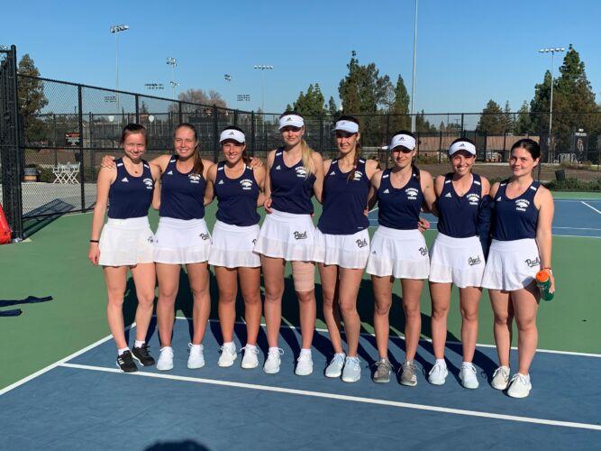 University of Nevada, Reno Women's Tennis Team 2020-2021