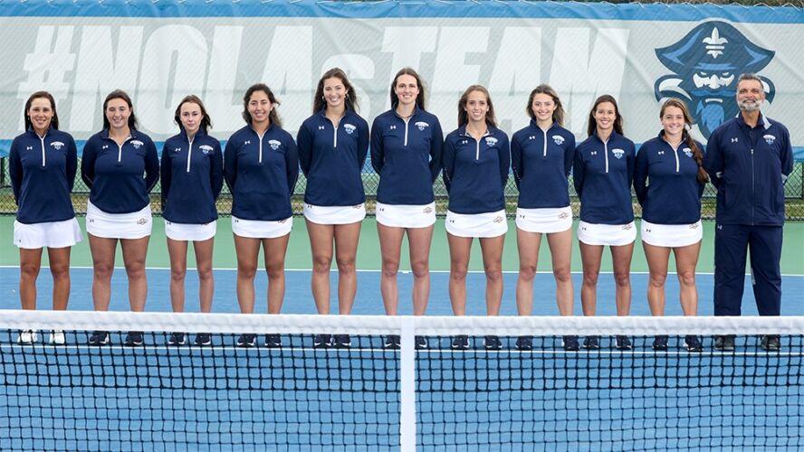 UNO Women's Tennis Team 2020/2021
