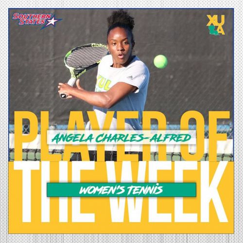 Southern States Athletic Conference Player of the Week in women's tennis for March 15-21.