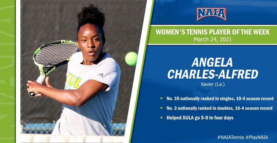NAIA National Player of the Week for March 15-21