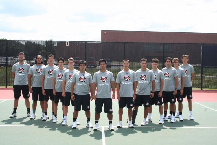 Cowley College Men's Tennis Team 2017-2018
