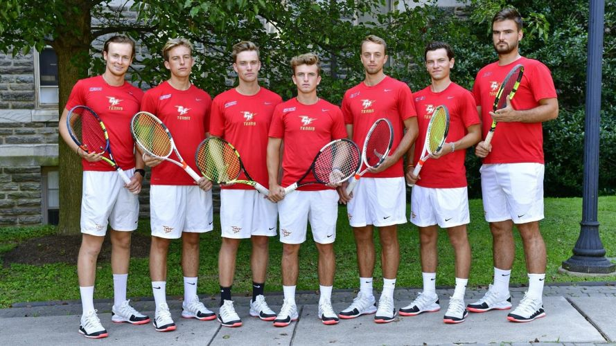 Chestnut Hill College Men's Tennis Team 2019-2020