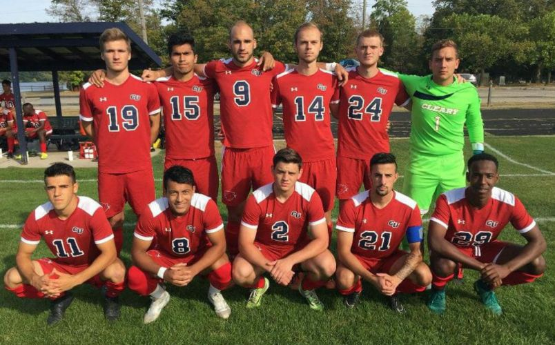 Cleary University Men's Soccer Team 2017-2018