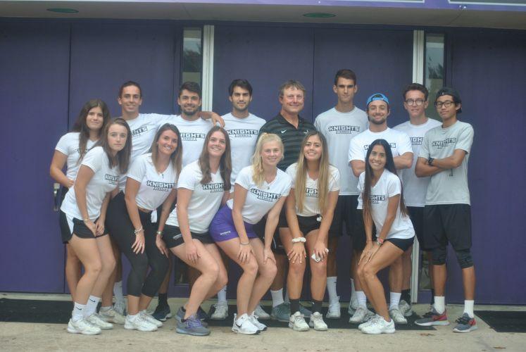 Middle Georgia State University Women's Tennis Team 2019-2020