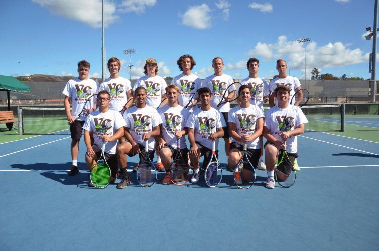 Ventura College Men's Tennis Team 2017-2018