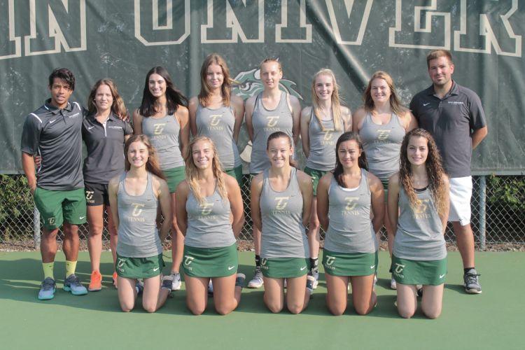 Tiffin University Women's Tennis Team 2017-2018