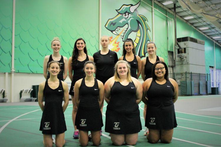 Tiffin University Women's Tennis Team 2018-2019