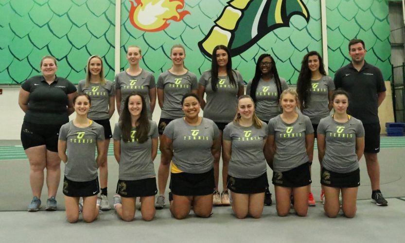 Tiffin University Women's Tennis Team 2019-2020