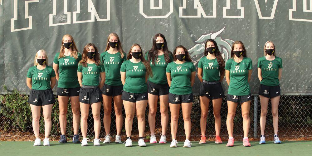 Tiffin University Women's Tennis Team 2020-2021