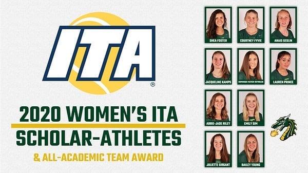 2020 Women's ITA Scholar-Athletes