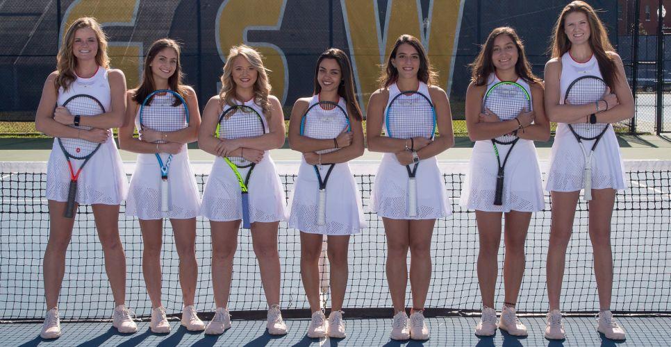 Georgia Southwestern Women's Tennis Team 2019-2020