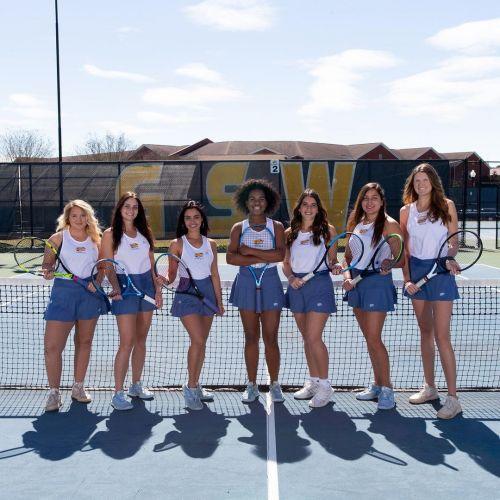 Georgia Southwestern Women's Tennis Team 2020-2021