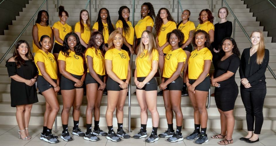 Xavier University of Louisiana Women's Volleyball Team 2018-2019