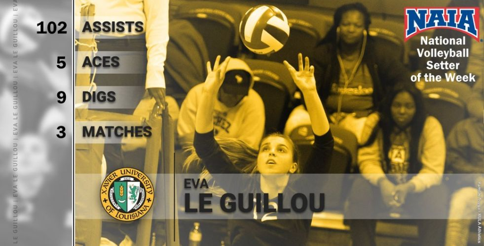 NAIA National Volleyball Setter of the Week