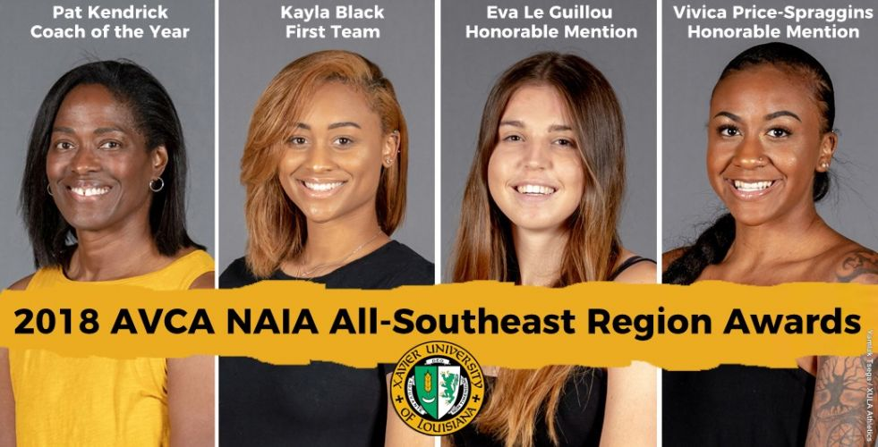 2018 AVCA NAIA All-Southeast Region Awards