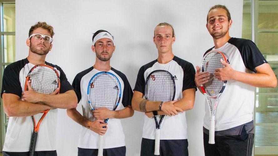 Mercer University Men's Tennis Team 2020-2021