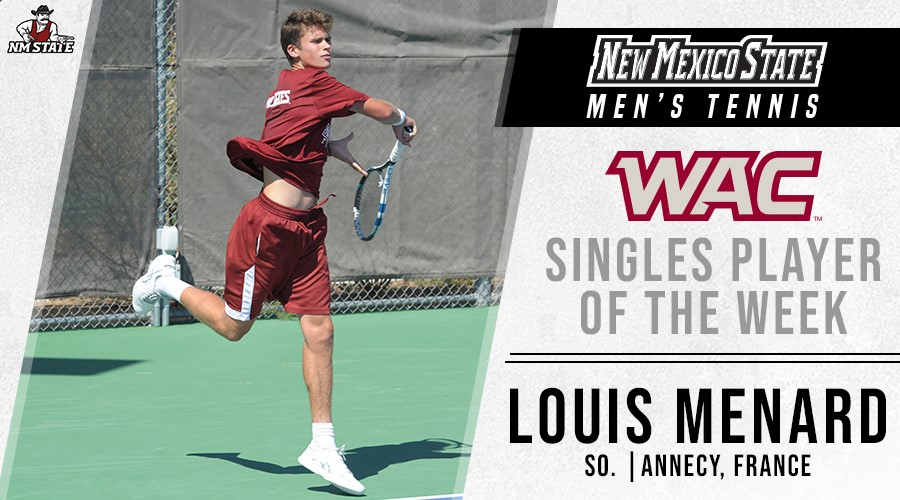 WAC Singles player fo the week