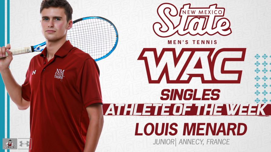 WAC Singles Athlete of the week