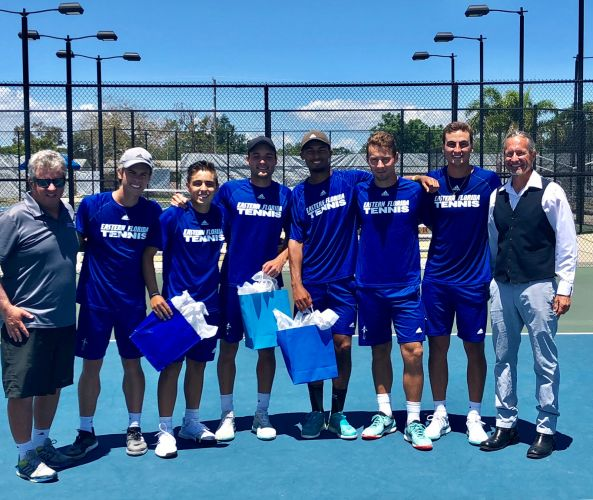 EFSC Men's Tennis Team 2018-2019