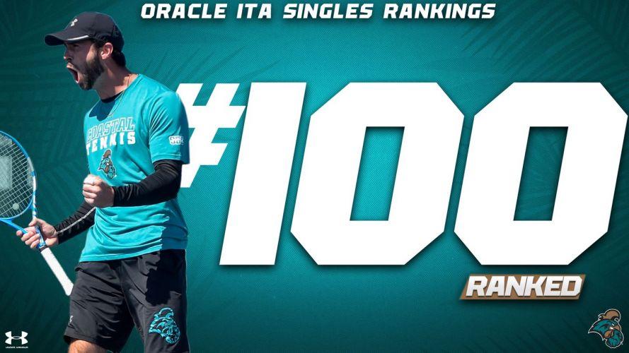 Bastien classé #100 de la NCAA 1