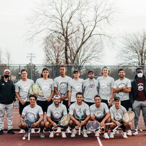 Cumberland University Men's Tennis Team 2020-2021