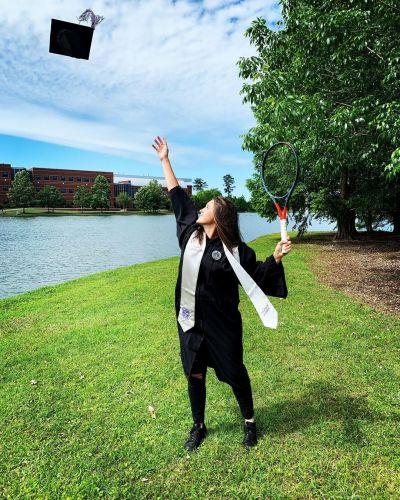 Bachelor's degree graduation (2021)