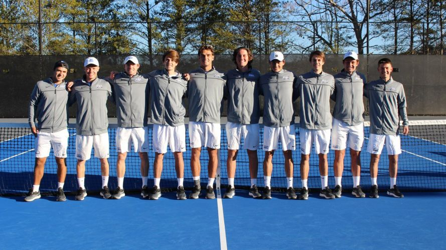 UNG Men's Tennis Team 2020/2021