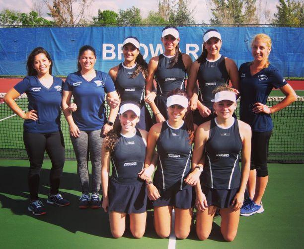 Broward College Women's Tennis Team 2017-2018