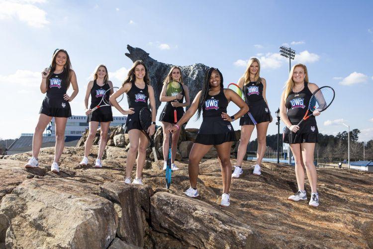 University of West Georgia Women's Tennis Team 2019-2020