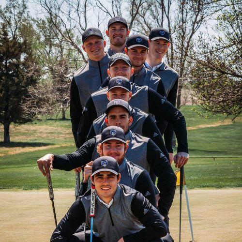Bellevue University Men's Golf Team 2020-2021