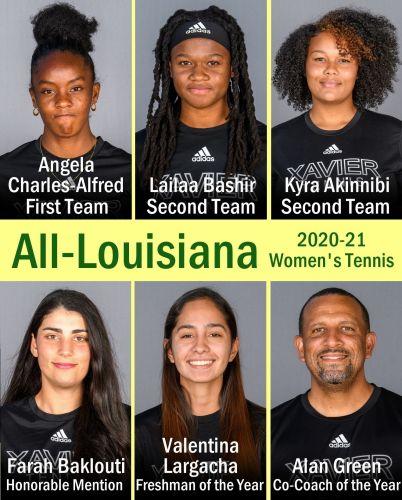 2020-2021 NAIA All-Louisiana First Team