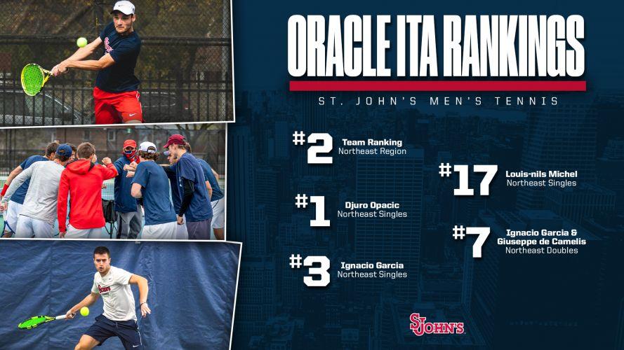 2021 No. 17 in the Oracle/ITA regional rankings en simples (NCAA 1 - Northeast region)