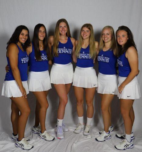 Lawrence Tech Women's Tennis Team 2021-2022