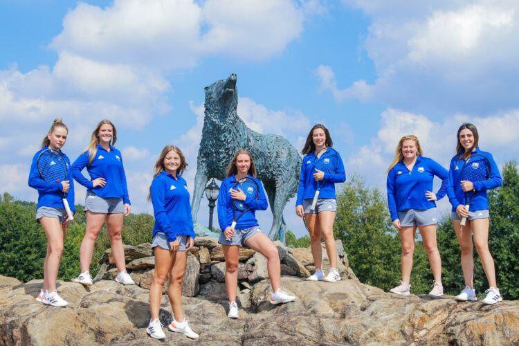 University of West Georgia Women's Tennis Team 2021-2022